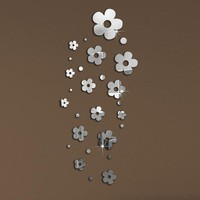 Flower Mirror Wall Art