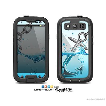 The Anchor Splashing Skin For The Samsung Galaxy S3 LifeProof Case