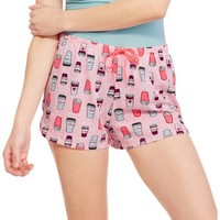 Secret Treasures Women's and Women's Plus Pajama Separates Sleep Short with Drawstring - Walmart.com