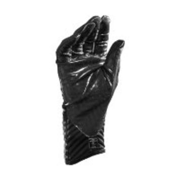 Under Armour Boys' UA Highlight Football Gloves Youth Medium Black