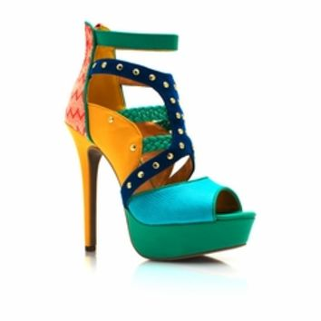 Miss Mix-A-Lot Platform Heels - GoJane.com