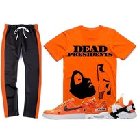 Nike Air Just Do It Sneaker Outfit - PRESIDENTS - Track Pants + Shirt