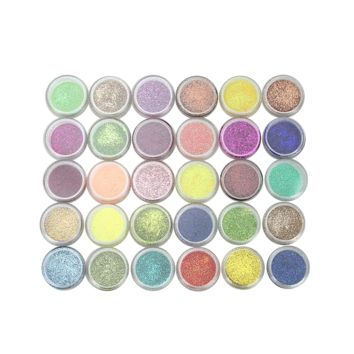 60 Pcs Colors Makeup Mineral EyeShadow Pigments Matt & Shimmer Art Cosmetics