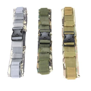 Canvas Tactical Military Shotgun Hunting Pouches 25 Shot Shells magazine Belt Ammo Bullet Holder Adjustable Waist Belts Strips