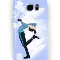 'Yuuri Katsuki - Yuri on Ice!' Samsung Galaxy Case/Skin by SalmonWM