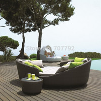 Gloster Outdoor Rattan Sectional Daybed Collection