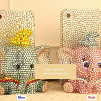 New Cute Dumbo Doll Flatback Scrapbooking / DIY Phone by chen370