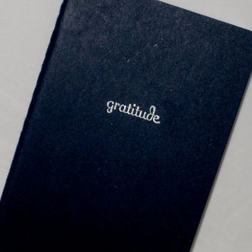 Gratitude Journal (Moleskine)