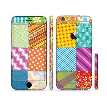 The Patched Various Hot Patterns Sectioned Skin Series for the Apple iPhone 6/6s Plus