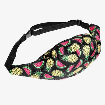 Pineapple Watermelon Fanny Pack