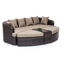 Cove Beach Brown Lounge Set