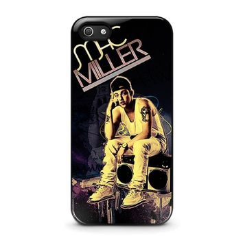 mac miller iphone 5 5s se case cover  number 1
