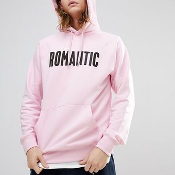 Wood Wood Romantic Hoodie In Pink at asos.com
