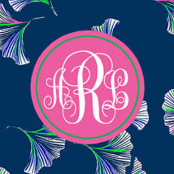 Facebook Cover Photo Monogrammed Lilly Pulitzer Pattern Let's Get Ginky