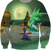 Spyro the Dragon Crewneck Sweatshirt