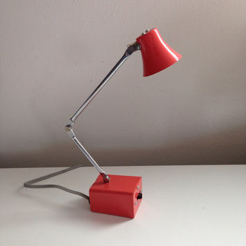 Tensor Desk Lamp a Fun Small Orange Modern Light for Your Home or Office
