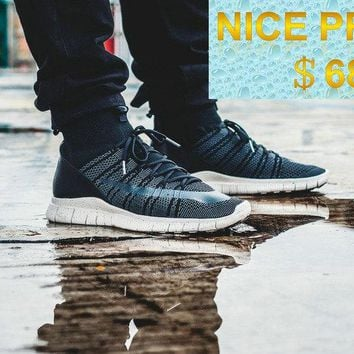 Popular 2018 Nike Free Mercurial Superfly SP HTM Black On Feet Blackout shoes
