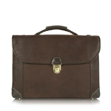 Bric's Designer Briefcases Life - Double Gusset Micro-Suede Briefcase