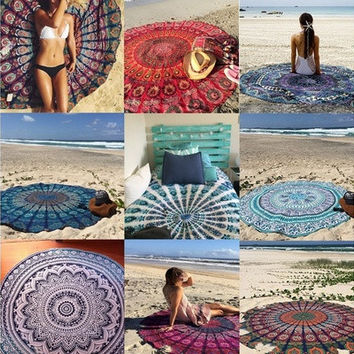 Beach Cover Up 2016 Pareo Bikini Boho Bohemian Hippie Summer Dress Swimwear Bathing Suit Sexy Kimono Tunic [8833483532]