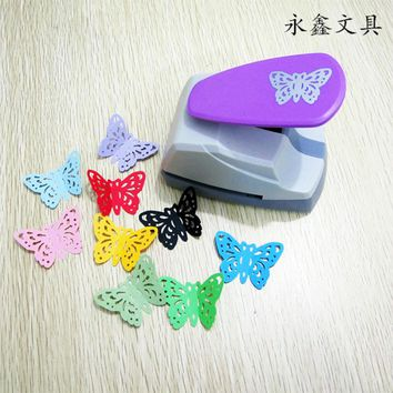 Creative Hollow Butterfly DIY Paper Punch for Card Scrapbooking Embossing flower Border embossing machine School Supplies
