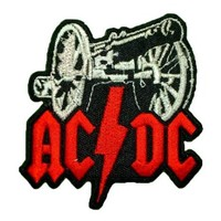 AC DC ACDC AC/DC Band t Shirts Logo MA12 iron on Patches