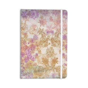 "KESS InHouse Journal Marianna Tankelevich ""Retro Summer"" Everything Notebook, Yellow Pink (MT1029ANP01)"