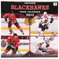 John F. Turner Chicago Blackhawks 2013 Mini Wall Calendar
