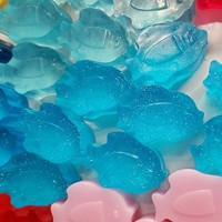 Fish Soap Favor - One Fish Two Fish Party Favors for nautical or beach theme Bridal Shower, Baby Shower or Wedding - Pack of 25