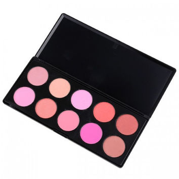 10-color Hot Sale Professional Blush = 4830993348