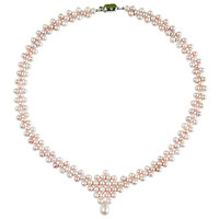 Delicate Cultured Pearl for Lady Beauty Wedding Necklace