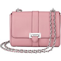 ASPINAL OF LONDON - Lottie chain-strap leather bag | Selfridges.com
