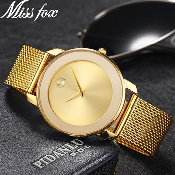 Miss Fox Ladies Gold Watch Women