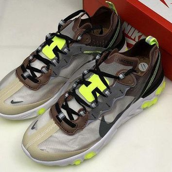 DCCK Nike React Element 87 'Desert Sand' AQ1090 002