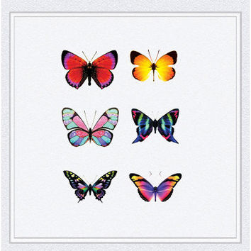 Tattoo temporary, Long lasting tattoo - butterfly tattoo 02