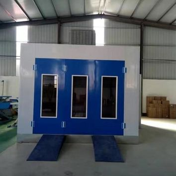 Automotive Paint Room Clean Environmentally Friendly Vehicles Paint Equipment