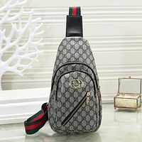 GUCCI Louis Vuitton LV Woman Men Fashion Leather Crossbody Single Shoulder Bag Satchel