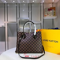 Louis Vuitton LV Women Shopping Leather Crossbody Satchel Shoulder Bag Monogram Tote Handbag Bags Best Quaility