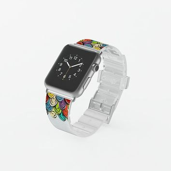 scallop scales transparent apple watch band Apple Watch Band (38mm) by Sharon Turner | Casetify