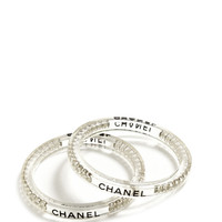 Chanel Bangles Set Of Two From Carole Tanenbaum by Carole Tanenbaum - Moda Operandi