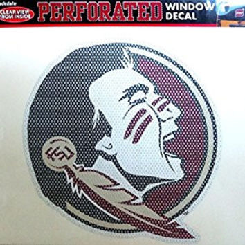 NCAA Florida State Seminoles 12x12 Perforated Decal