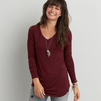 AEO LONG SLEEVE JEGGING T-SHIRT