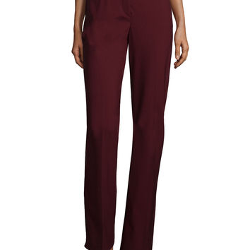Max 2 Edition Flat-Front Trousers, Size: