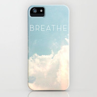 Breathe iPhone Case by Sarah Palisi Design | Society6