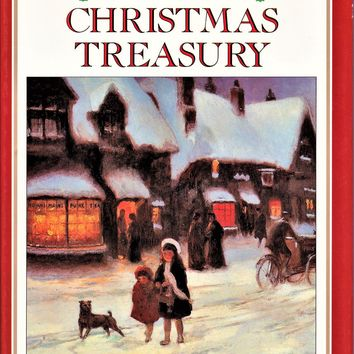 A Child's Christmas Treasury by Mark Daniel (1988, Hardcover, Pre-Owned)