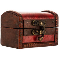 Extra Small Red Trunk Box | Hobby Lobby