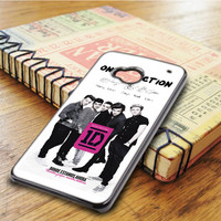 One Direction 1d Harry Styles Louis Tomlinson Zayn Malik Niall HTC One M7 Case
