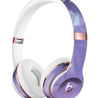 Light Purple Geometric V13 Full-Body Skin Kit for the Beats by Dre Solo 3 Wireless Headphones