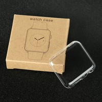 42mm Ultra Thin PC Plastic Case Transparent For Apple Watch Series 1 2 Clear Shell Cover For Apple Watch Series 2 1 3 38mm 42mm