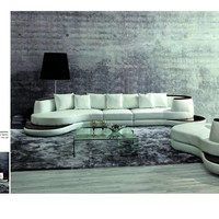 Luxury Sofa - Elegant Contemporary Sectional with Single Chaise