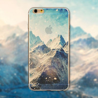 "Endless Mountains Painted Soft TPU For Apple iPhone 6  ""4.7""inch Mobile Phone Back Skin Cases Cover WHD1440"